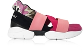 Emilio Pucci Peonia Pink Suede Sneakers