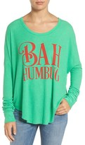 Wildfox Couture Women's Bah Humbug Thermal Tee