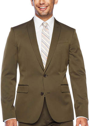 Jf J.Ferrar Slim Ultra Comfort Super Slim Fit Stretch Suit Jacket