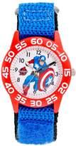 Kohl's Marvel The Avengers Assemble Captain America Boys' Time Teacher Watch