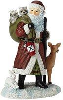 "Precious Moments Pipka Christmas Gifts, ""Northwoods Santa"", Santas Of America Collection, Resin Figurine, #7161210"