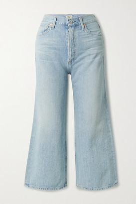 Citizens of Humanity Sacha Organic High-rise Wide-leg Jeans - Light denim