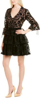 Monique Lhuillier Ml A-Line Dress