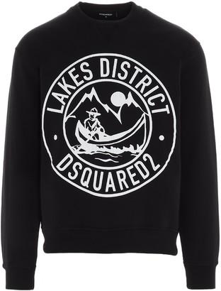 DSQUARED2 Lake District Print Sweatshirt