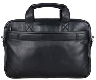 Ben Sherman Premium Karino Leather Double Compartment Briefcase