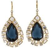 Kenneth Jay Lane Crystal Drop Earrings w/ Tags