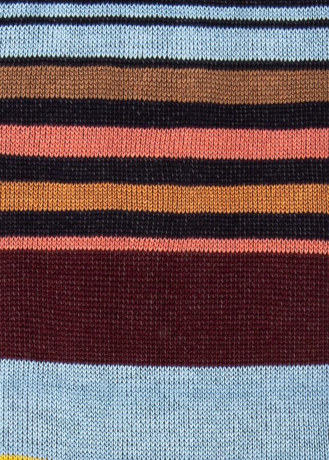 Thumbnail for your product : Paul Smith Men's Navy Multi-Stripe Socks