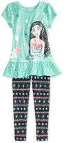 Disney Disney's Moana 2-Pc. Shirt & Leggings Set, Toddler Girls (2T-5T)