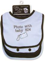 Trend Lab 106315 Bib Set- Photo With Baby .50 Cts-3-Pack