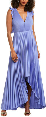 Flor Et. Al Flor Et.Al Pleated Maxi Dress