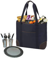 Picnic at Ascot Extra Large Picnic Bag Equipped for 2 - Navy/Brown