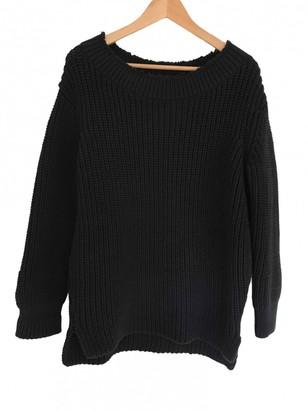 Hatch Black Cotton Knitwear for Women