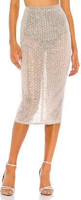 Camila Coelho Beatriz Midi Skirt