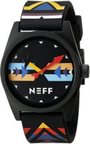Neff Men's NF0208WRRR Daily Wild Analog Watch