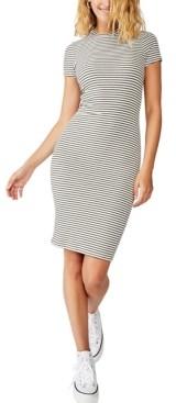 Cotton On Essential Short Sleeve Bodycon Dress