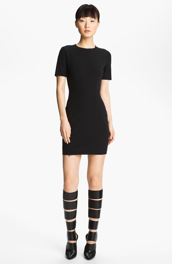Alexander Wang Fitted Tech Dress