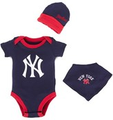 New York Yankees Majestic Athletic Navy Romper Gift