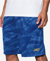 """Under Armour Men's 11"""" Printed Stephen Curry Shorts"""