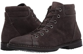 John Varvatos Portland Monkey Boot (Dark Charcoal) Men's Lace-up Boots