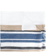 Dondup striped scarf - men - Cotton/Linen/Flax/Viscose - One Size