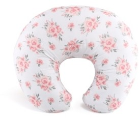 The Peanut Shell Ps Floral Rose Nursing Pillow with Case