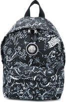 Versus printed backpack