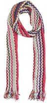 Missoni Metallic Knit Scarf