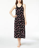 Alfani Bouquet-Print Pleated Nightgown, Created for Macy's