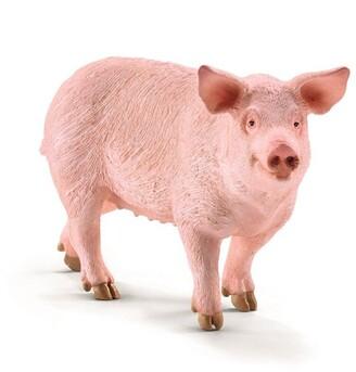 Schleich Hand-Painted Figure Pig