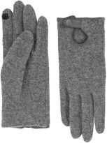 Accessorize Wool Glove With Strap