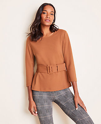 Ann Taylor Belted Top
