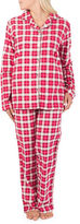 Claudel Allover Bows Two-Piece Pyjama Set