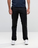 Farah Trouser In Stretch Hopsack Slim Fit Black
