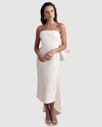 Rebecca Vallance Amore Sleeveless Midi Dress