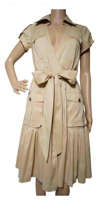 Diane von Furstenberg Beige Cotton Dresses