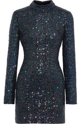 Rachel Zoe Pierina Sequined Tulle Mini Dress