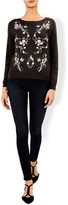 Monsoon Enda Embroidered Front Butterfly Jumper