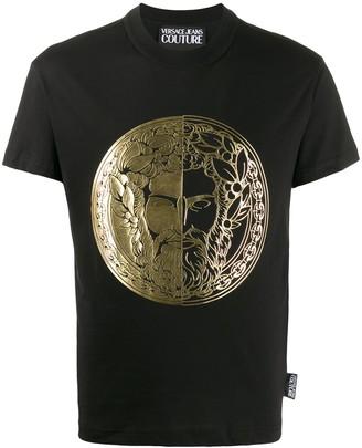 Versace foil-print T-shirt