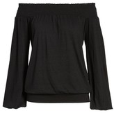 Pam & Gela Women's Off The Shoulder Tee