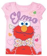 Freeze Sesame Street Elmo Bow Tie Tee (Toddler Girls)