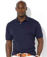 Polo Ralph Lauren Big and Tall Polo Shirt, Solid Interlock