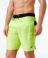 Speedo Men's Cross Hatch Colorblocked Board Shorts, 9""