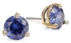 Kate Spade Faceted Stud Earrings - Blue