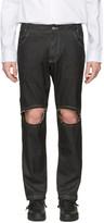 Telfar Black Simplex Jeans