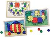 Melissa & Doug Toddler Sort & Snap Color Match Activity Board