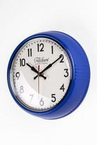 The Well Appointed House Telechron Metal Wall Clock in Blue