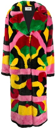 Kirin All-Over Print Coat