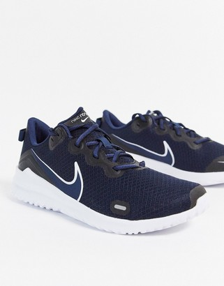 Nike Running Renew Ride sneakers in navy