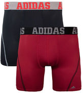 adidas Two-Pack Contrast Waistband Boxer Briefs