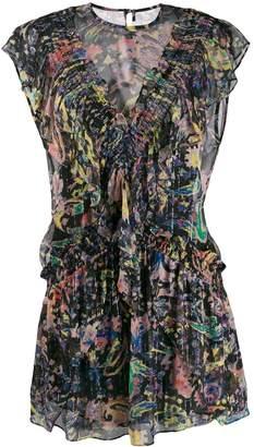 IRO Kleid print mini dress